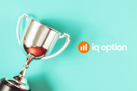 Torneios de negociação IQ Option - Como posso receber um prêmio em um torneio?
