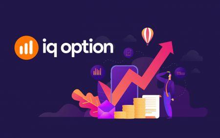 Como negociar opções binárias e sacar dinheiro do IQ Option