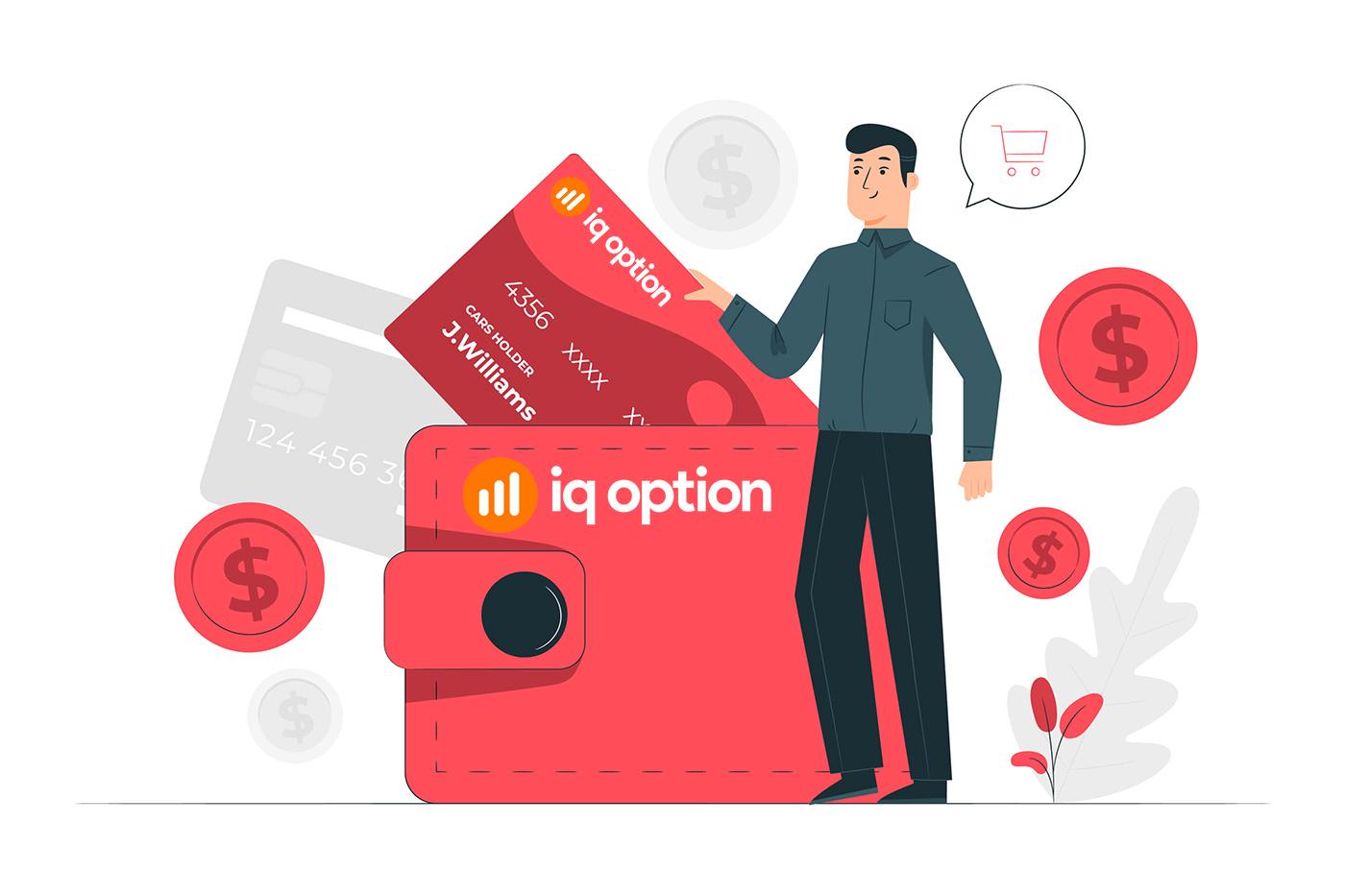 Como abrir uma conta e sacar dinheiro em IQ Option