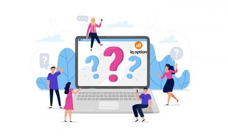 Perguntas frequentes (FAQ) de contas, verificação em IQ Option