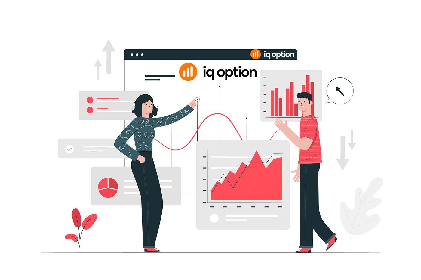 Como registrar e negociar opções binárias em IQ Option