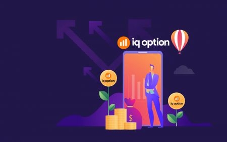Como depositar e negociar opções binárias em IQ Option