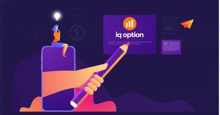 Como criar uma conta e registrar-se no IQ Option
