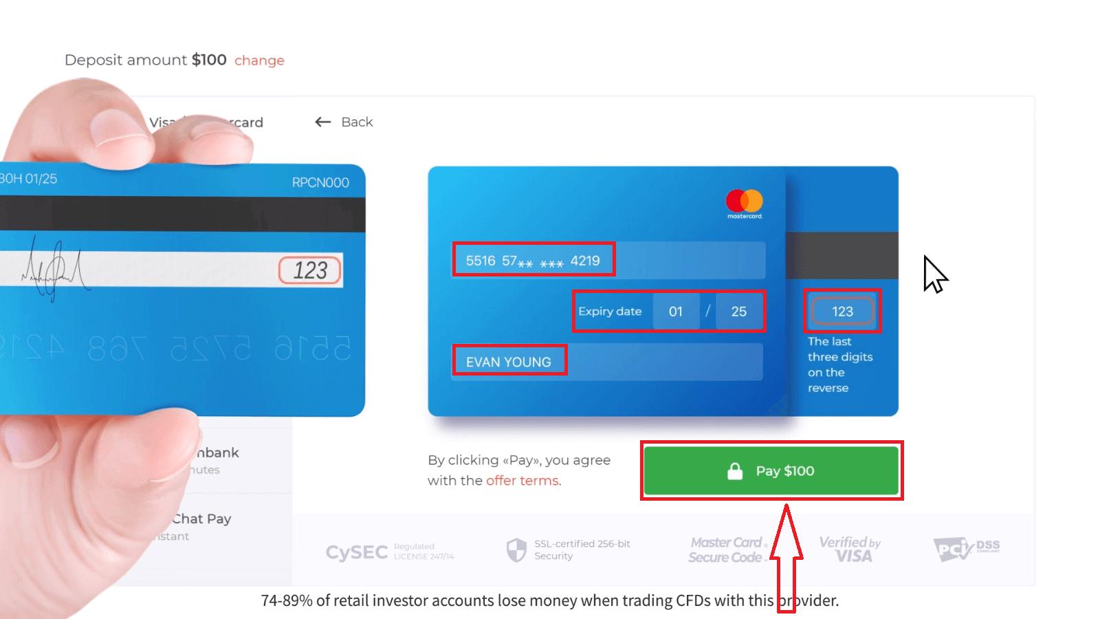 Como sacar e fazer um depósito em dinheiro no IQ Option